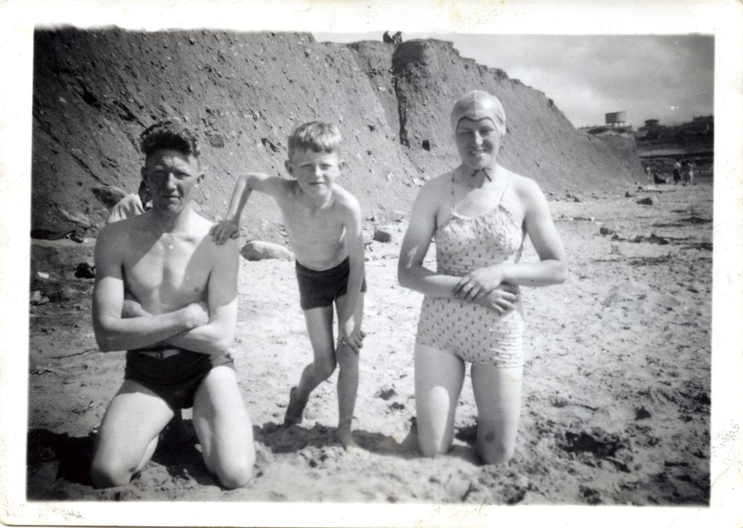McCourt // County Louth :: McCourts on the beach, Bundoran, County Donegal