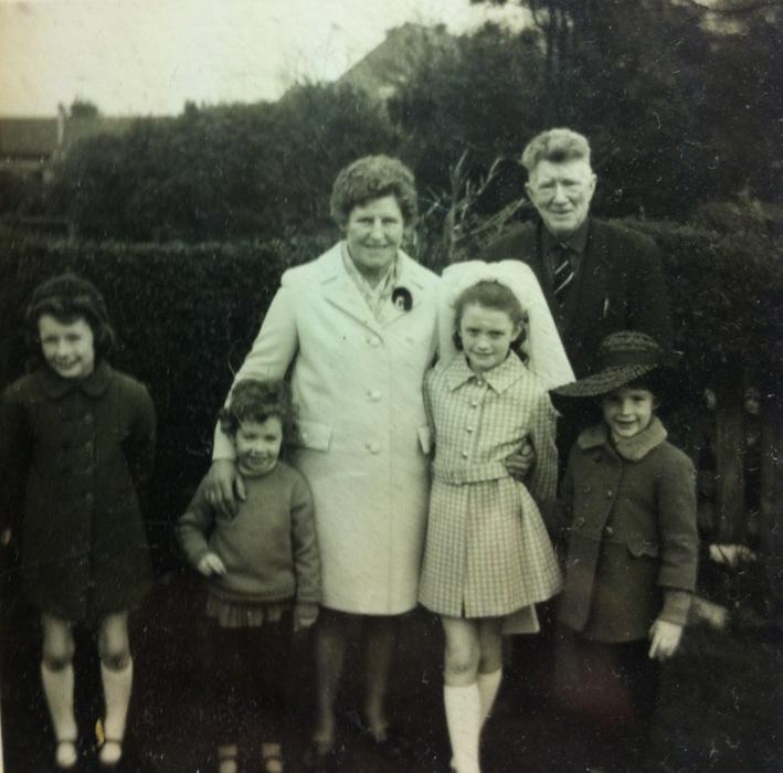 McCourt // County Louth :: Frances McCourt with grandchildren