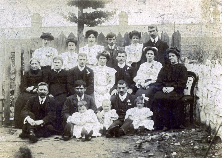 Mansfield // County Dublin :: Family wedding photograph taken in Cork Street, Liberties, Dublin