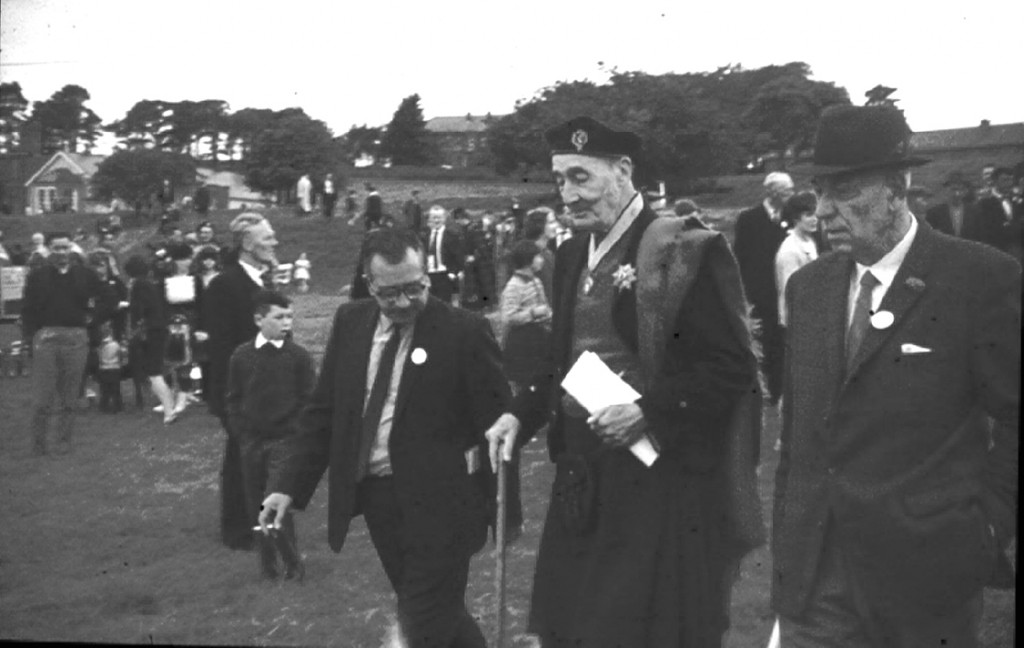 Clerkin // County Monaghan :: Judges at Monaghan Band Festival in the late 1960s