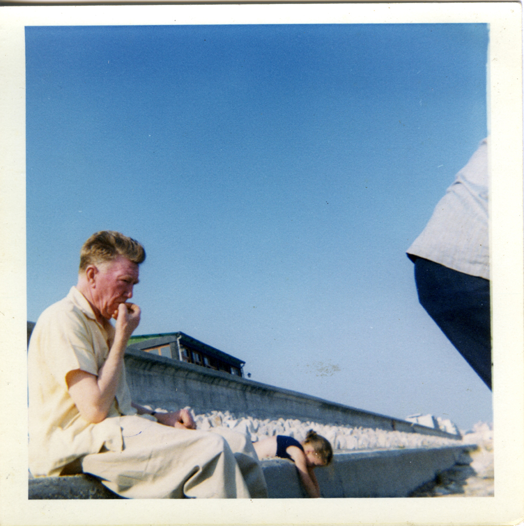 McCourt // County Louth :: Thomas McCourt on holiday in the Lido, Venice