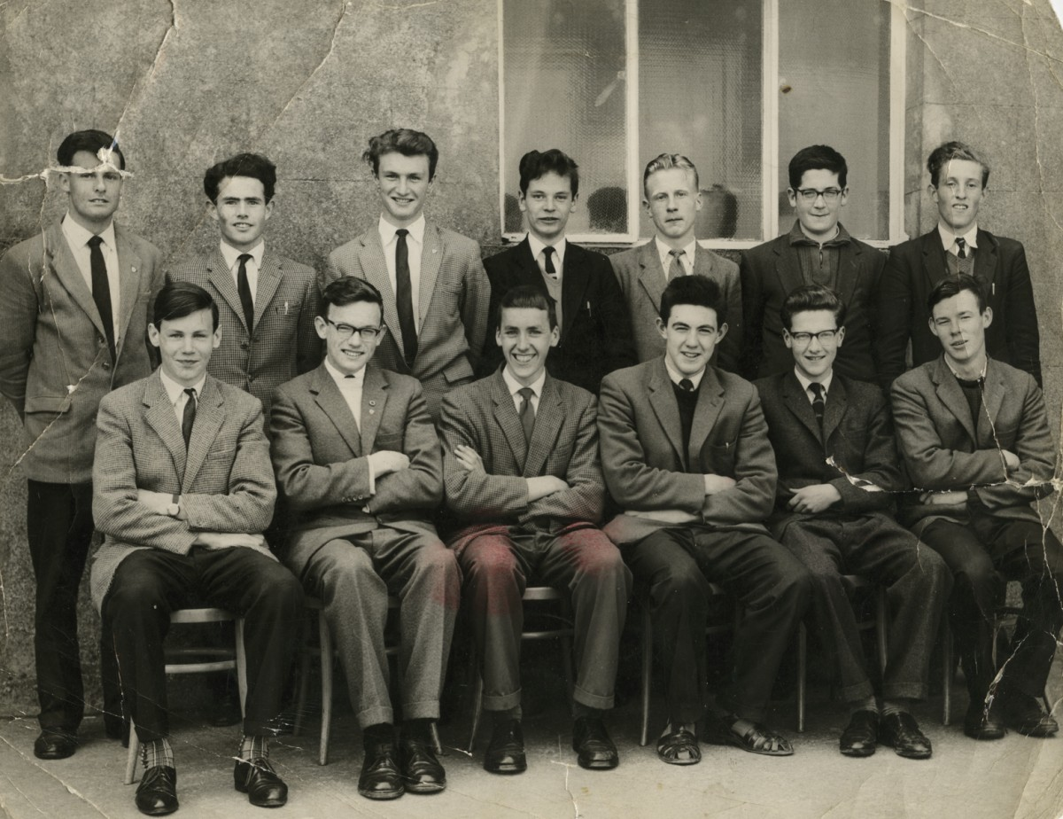 Clerkin // County Monaghan :: Leaving Certificate Class from Christian Brothers School, Monaghan