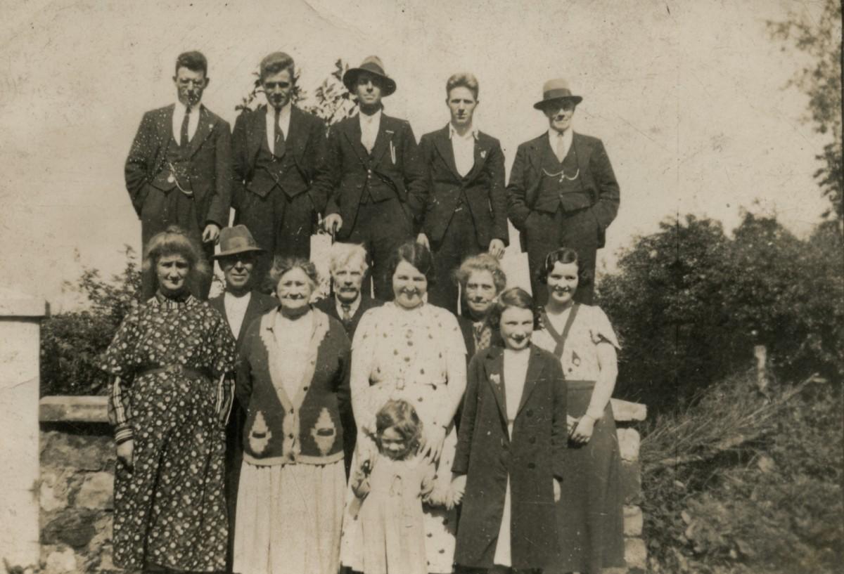 Clerkin // County Monaghan :: Clerkin family photograph