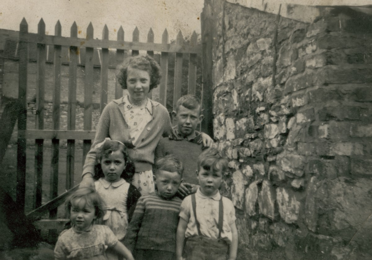 Clerkin // County Monaghan :: Children from Market Street, Monaghan