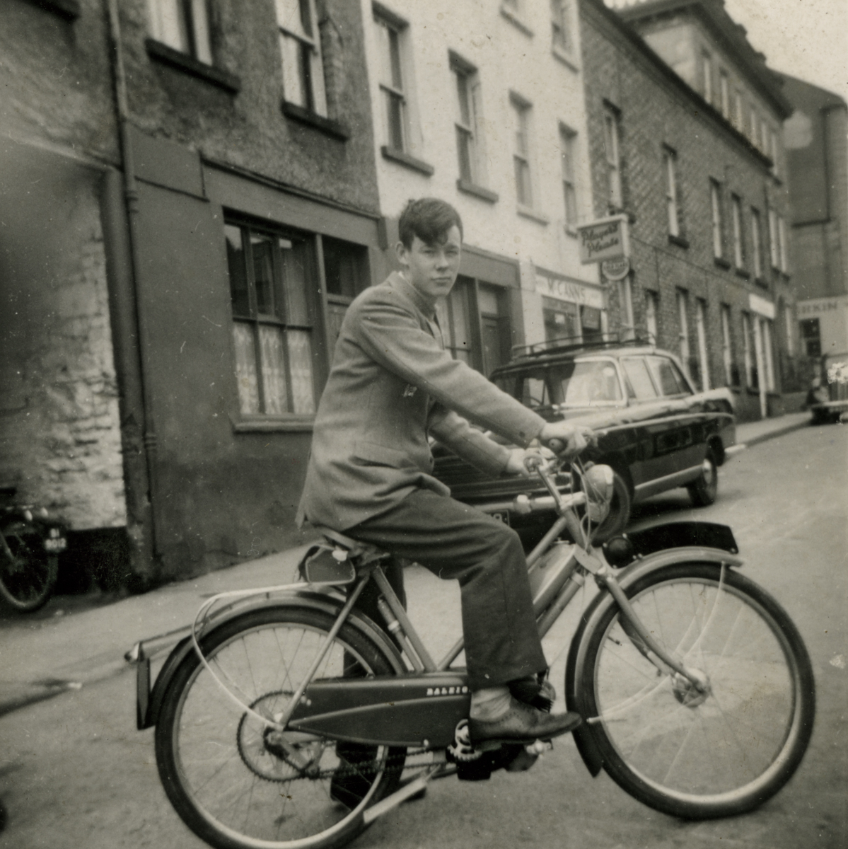 Clerkin // County Monaghan :: Eugene Clerkin on a Raleigh Moped