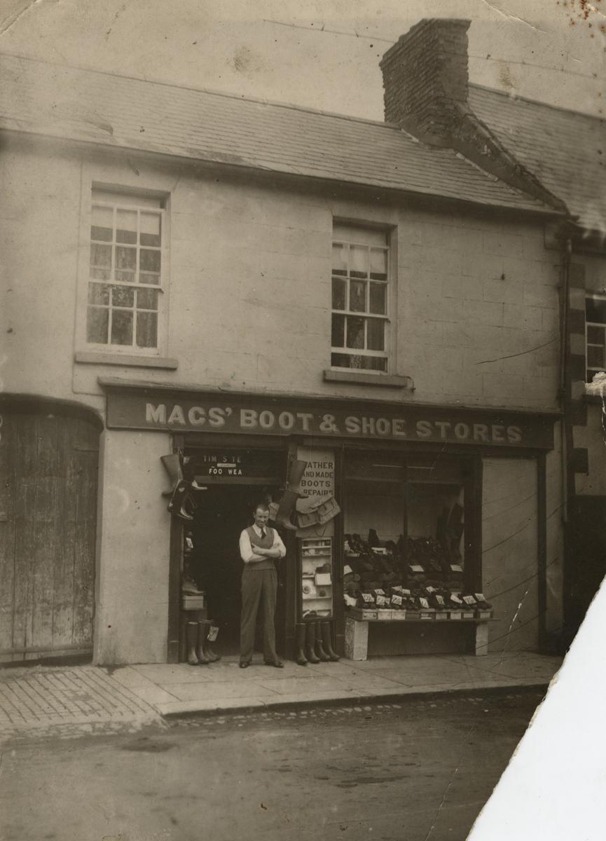 Clerkin // County Monaghan :: Mac shoe shop, Trim, County Meath