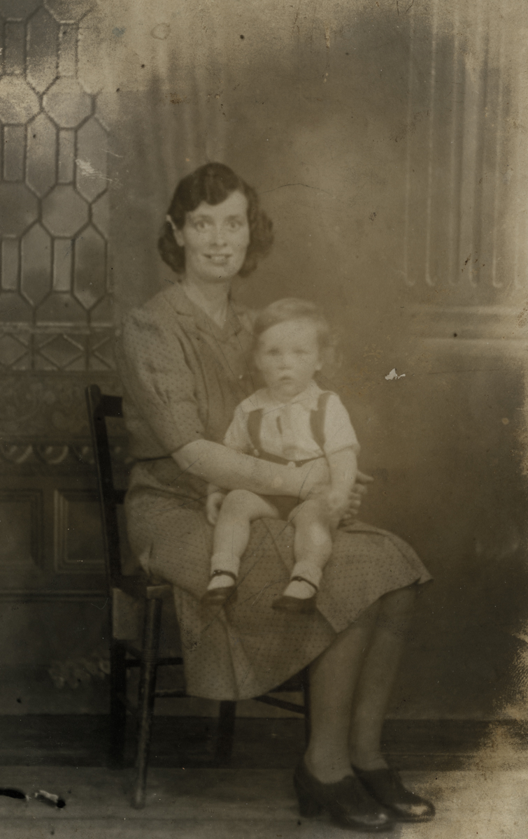 Clerkin // County Monaghan :: Mother and son