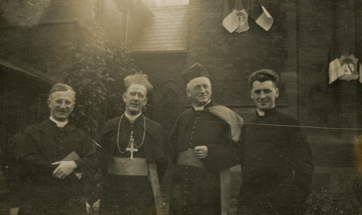 Clerkin // County Monaghan :: Group of priests outside church