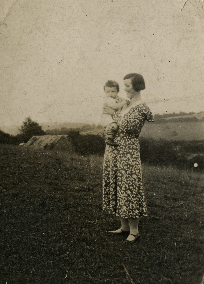 Clerkin // County Monaghan :: Mother and son outdoors