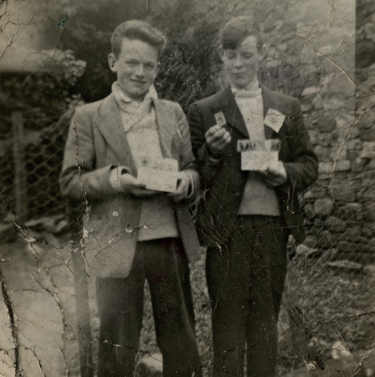 Clerkin // County Monaghan :: Two boys outside