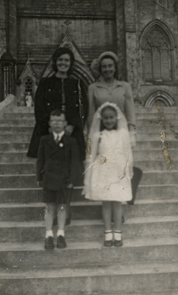 Clerkin // County Monaghan :: Clerkin family outside St.Macartan's Cathedral