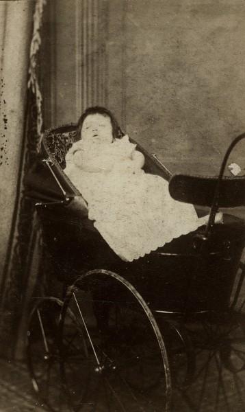 Baby in a Pram, 1885
