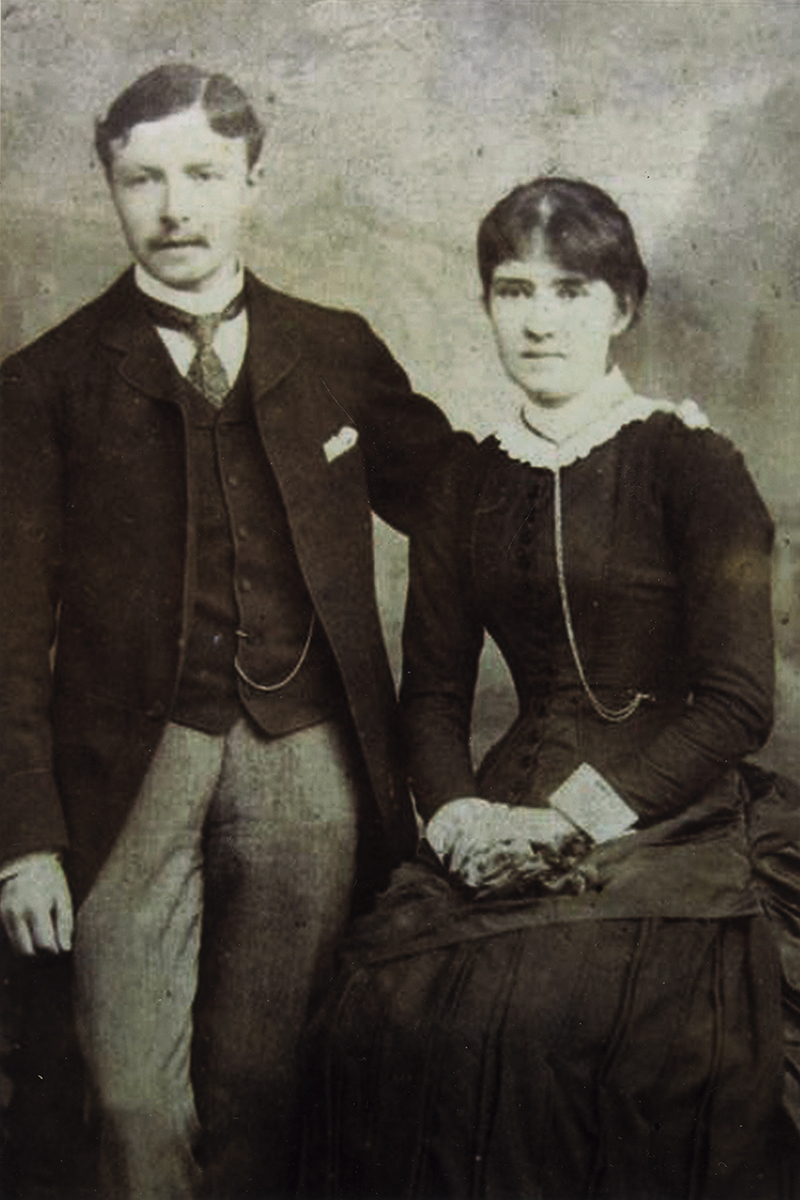 Johnston // County Louth :: Wedding of Margaret Christina McKenna and Patrick Johnston in 1884
