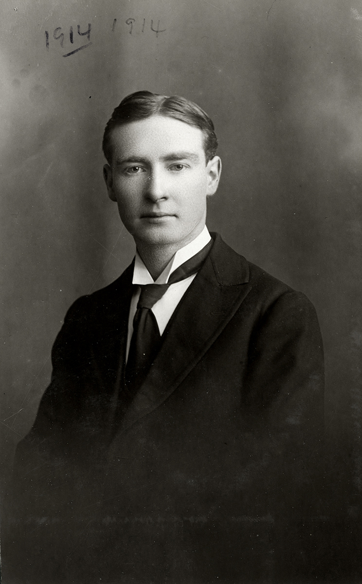 Johnston // County Louth :: Formal portrait of John Kennan Johnston