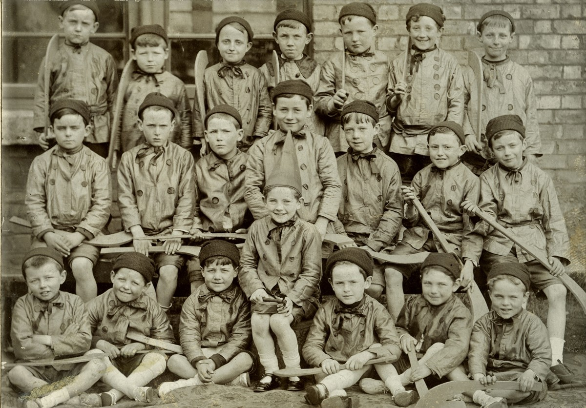 Johnston // County Louth :: School Group, c.1913/1914