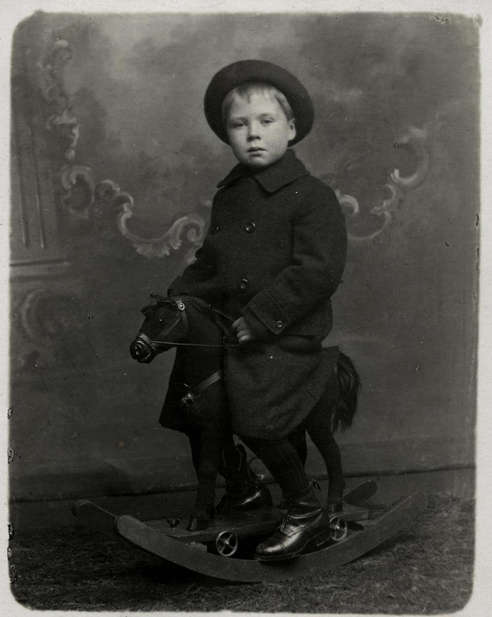 Johnston // County Louth :: Michael Jonston as a child