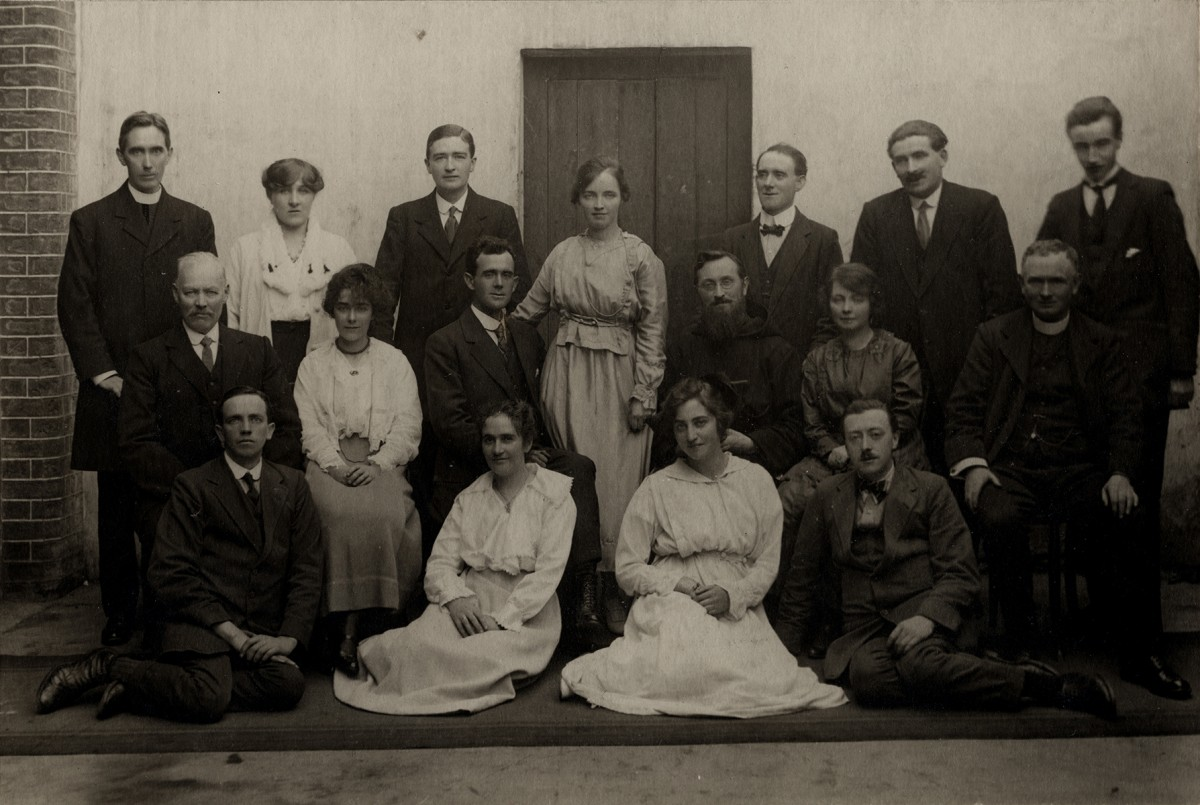 Johnston // County Louth :: A wedding group, 1918