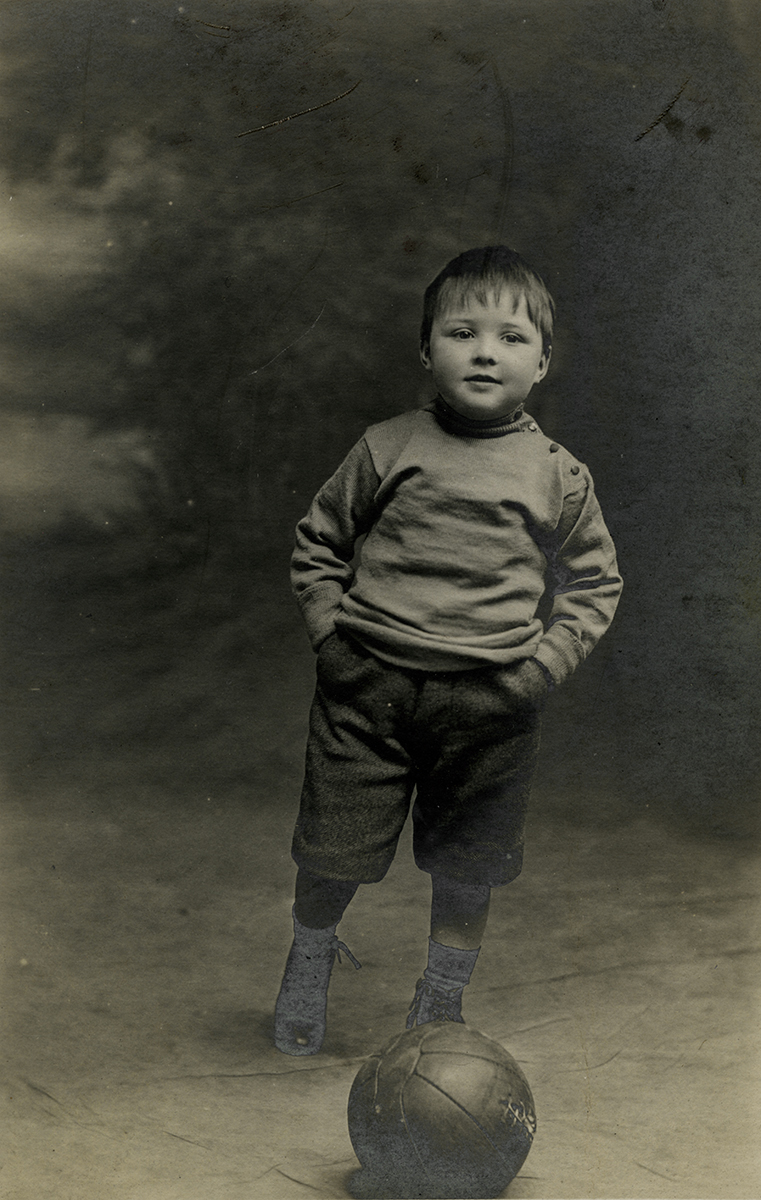 Johnston // County Louth :: Young boy with football