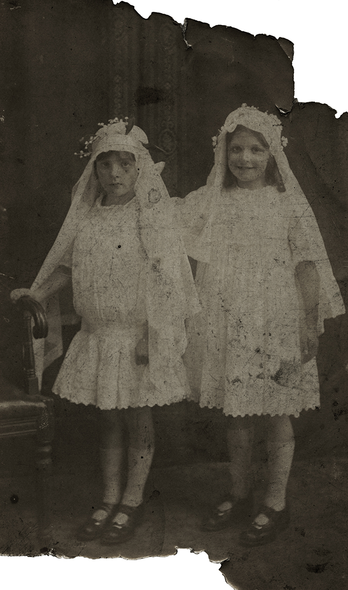 McCourt // County Louth :: Communion photograph - France Rowe on left