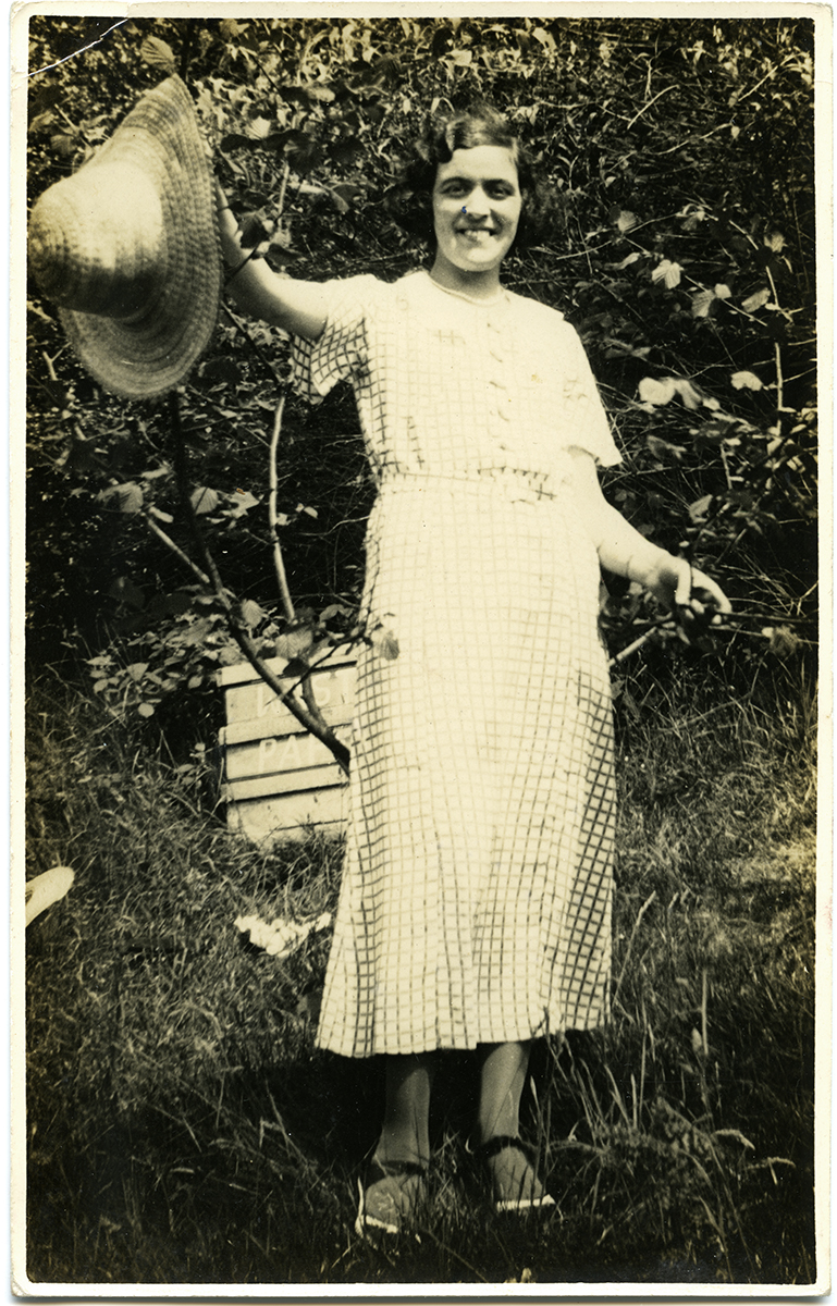 McCourt // County Louth :: Woman in garden