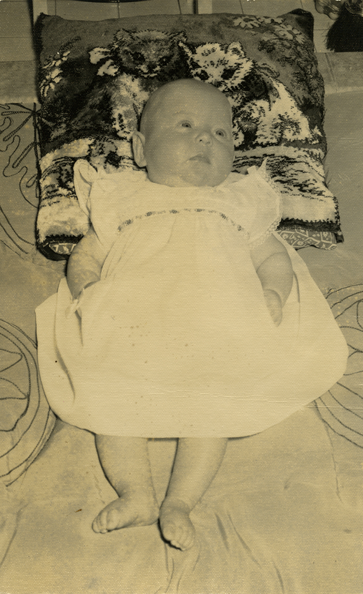Dillon // County Wexford :: Margaret Dillon as an infant