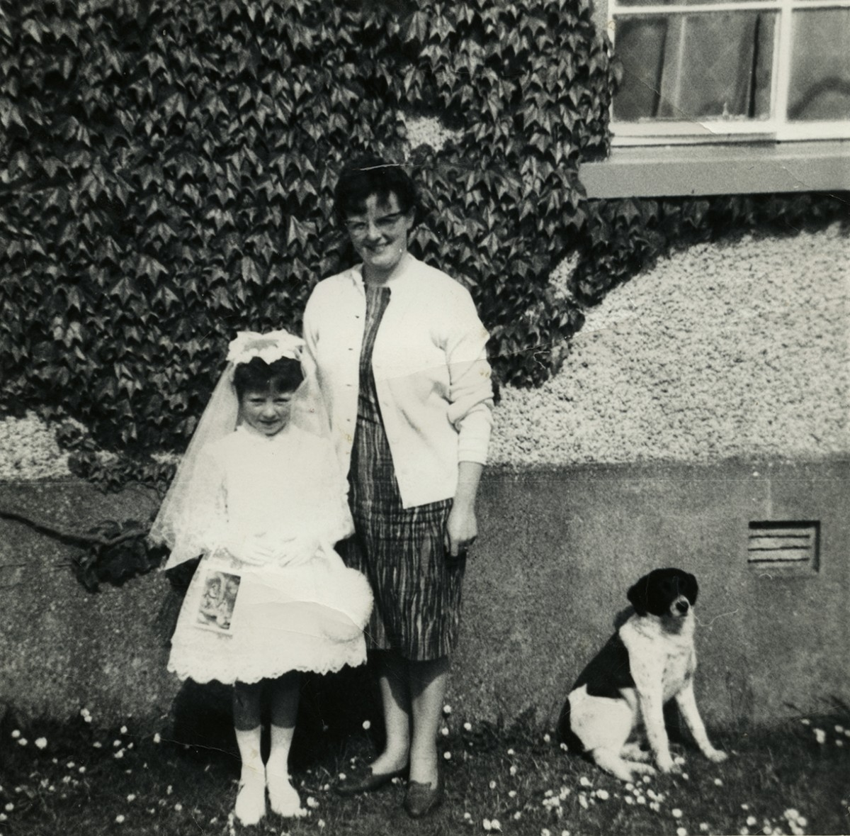Dillon // County Wexford :: Margaret Dillon with her mother
