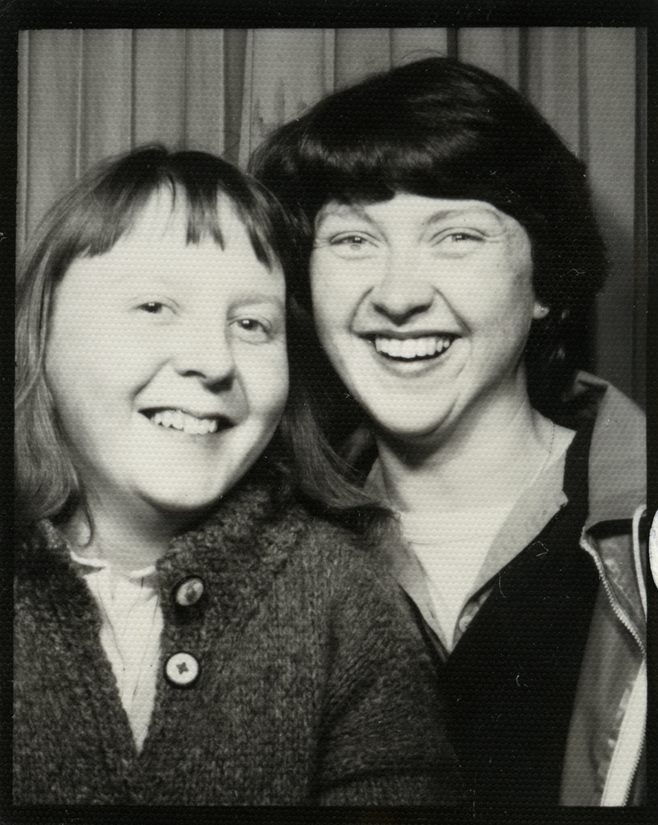 Dillon // County Wexford :: Two young women in a photobooth