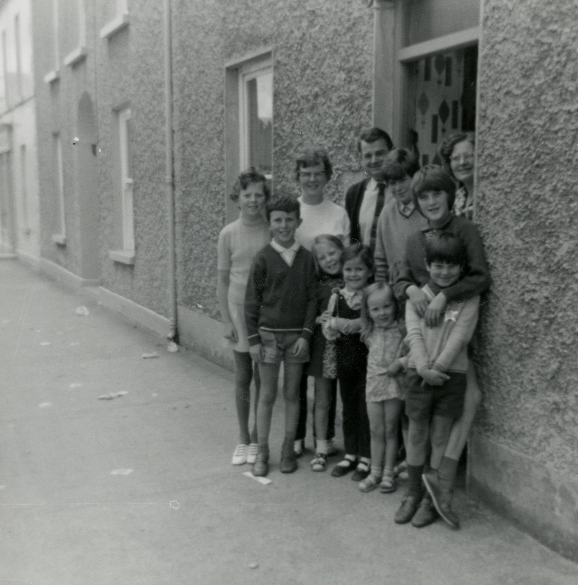 Dillon // County Wexford :: The Dillon family outside a home in New Ross