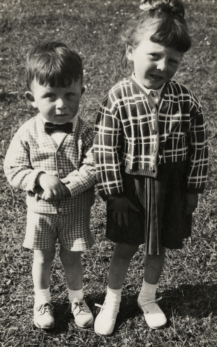 Dillon // County Wexford :: The Dillon children, Michael and Margaret
