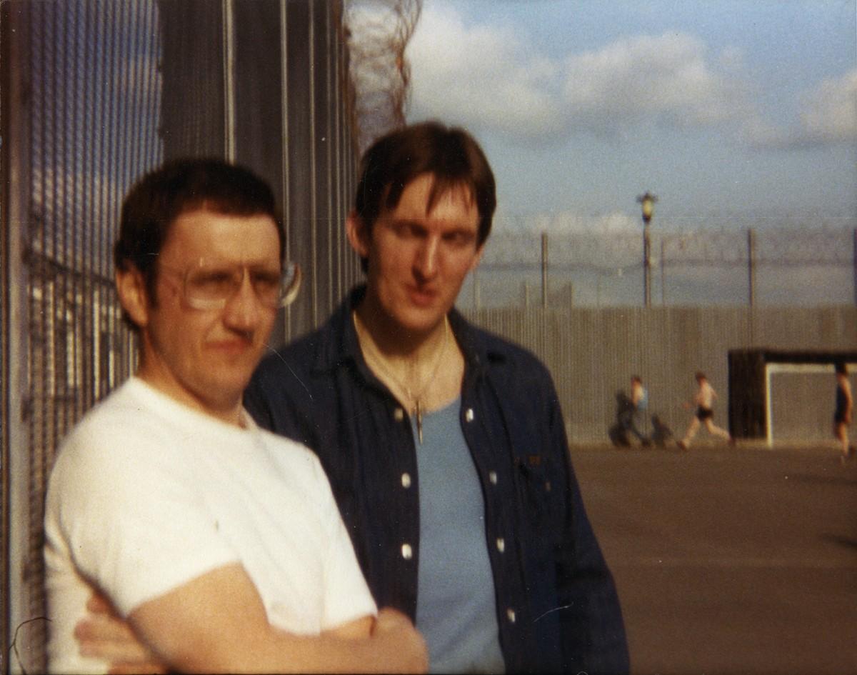 McKeown // County Antrim :: Hidden camera photograph taken in the Maze Prison, Long Kesh, County Antrim