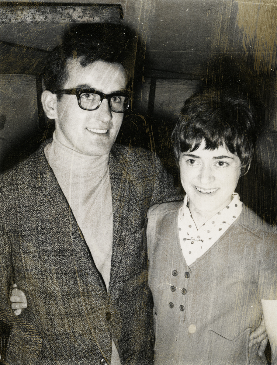 Shanahan // County Dublin :: Young couple in the early 1960's