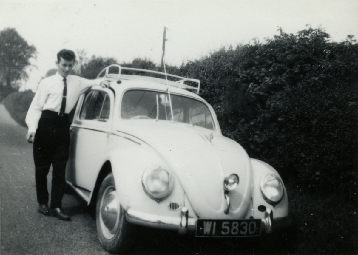 Shanahan // County Dublin :: Young man with a Volkswagen Beetle