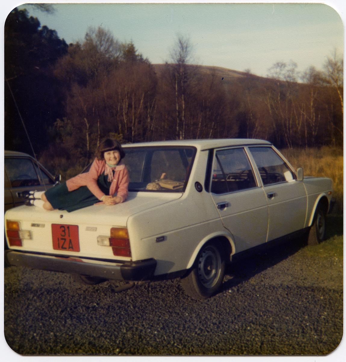 Shanahan // County Dublin :: Girl on Car