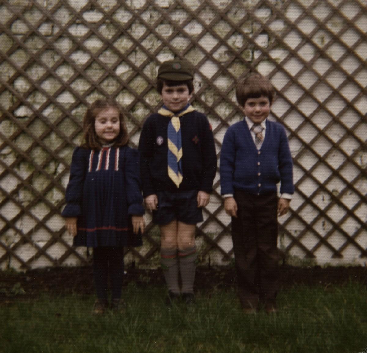 Shanahan // County Dublin :: Children in the Backgarden