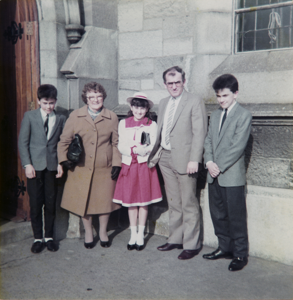 Shanahan // County Dublin :: Family Group outside Church