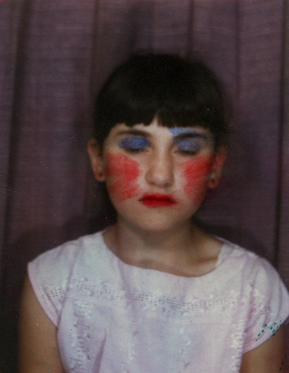Shanahan // County Dublin :: Young girl in a Photo Booth