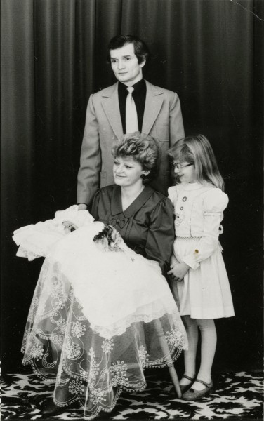 Fortas family Christening photograph