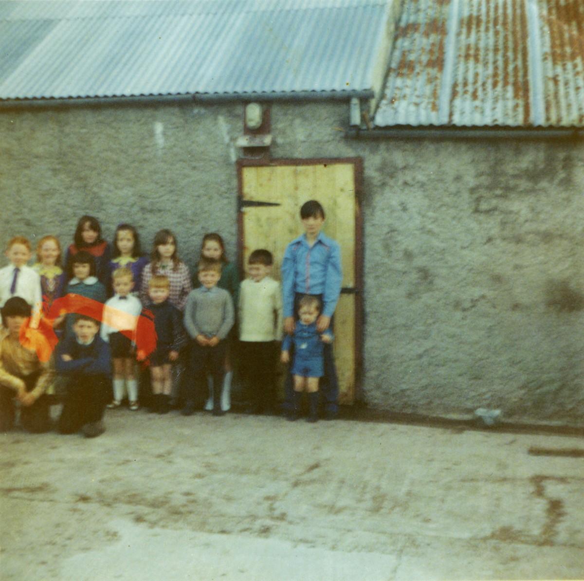 Conlon // Philadelphia & County Monaghan :: Conlon children in farmyard, 1972