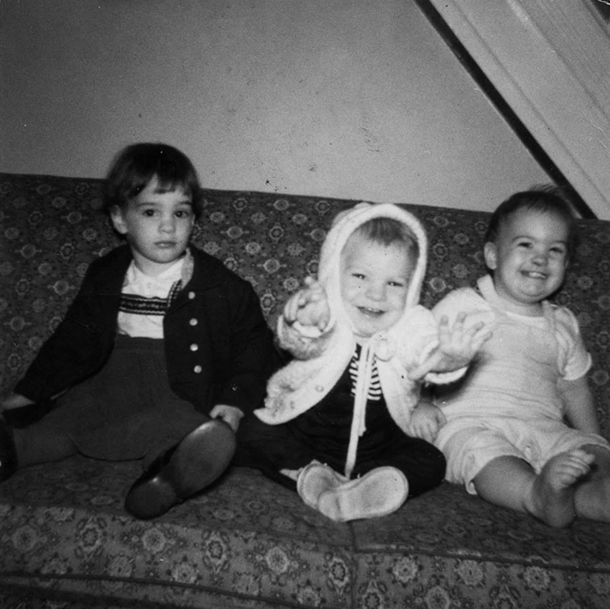 Conlon // County Monaghan :: Breige, Kevin and Séan Conlon at home in Germantown, Philadelphia c. 1962,