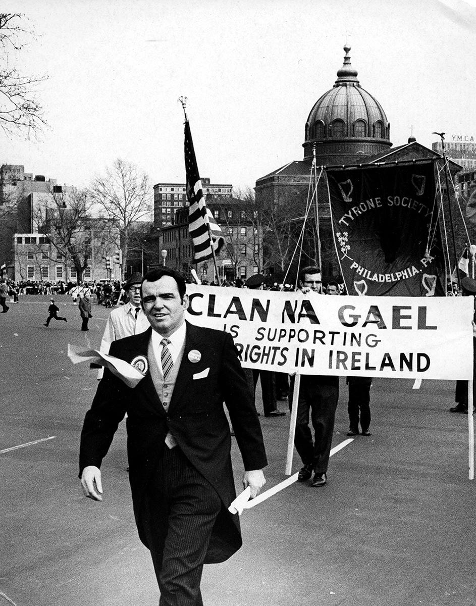 Conlon // Philadelphia & County Monaghan :: Tyrone Society & Clan na Gael marching in the St. Patrick's Day Parade, Philadelphia