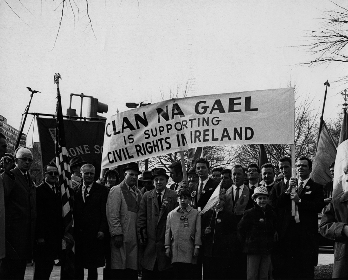 Conlon // Philadelphia & County Monaghan :: Northern Ireland Civil Rights Association March at the St Patrick's Day Parade in Philadelphia
