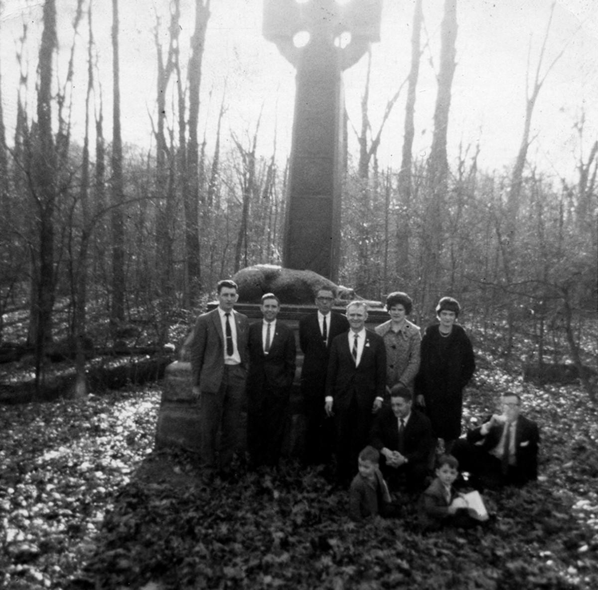 Conlon // County Monaghan :: Visit to the Gettysburg Memorial for the Irish Brigade