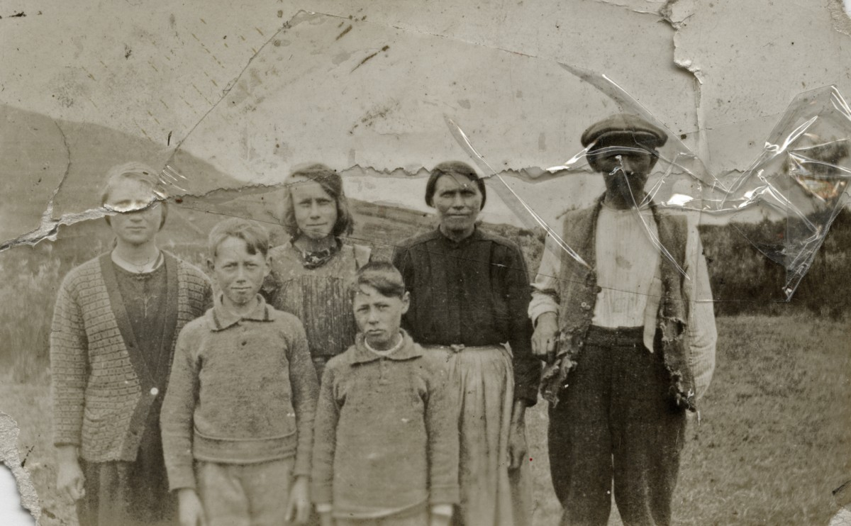 McGing // County Meath :: McGing family photo, Glenmask County Mayo