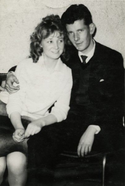 Marie and Vincent as a young couple