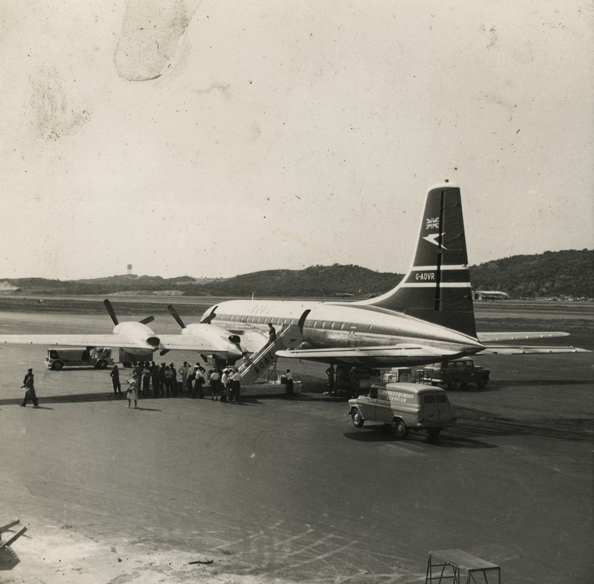Gilroy  //  County Louth  :: A plane in Venezuela, early 1960's