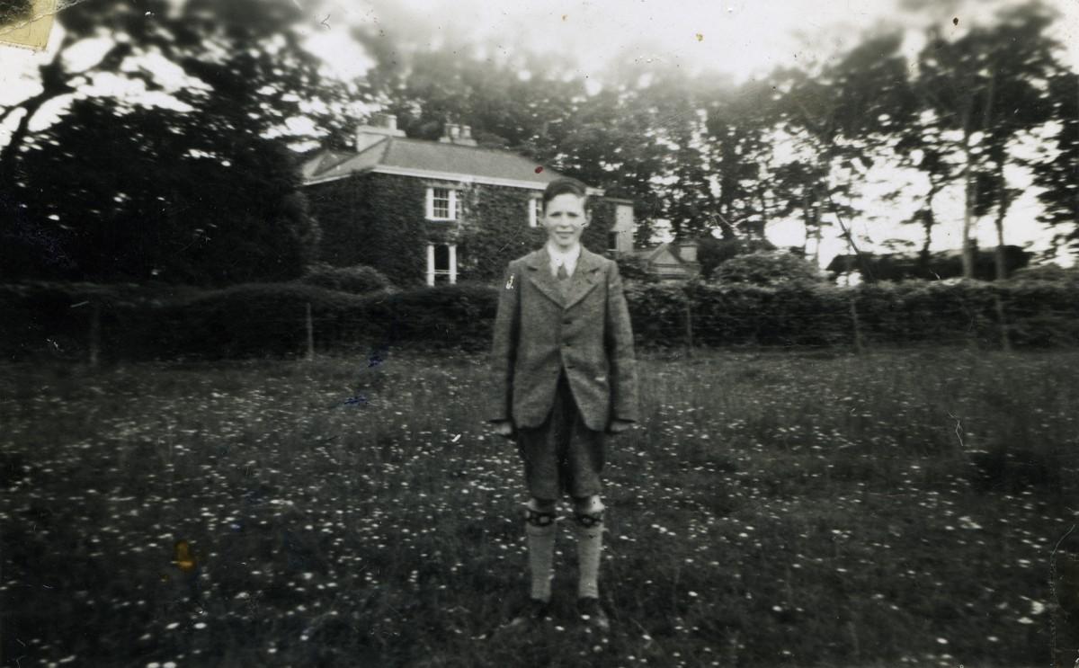 Gilroy  //  County Louth  :: Boy in a garden