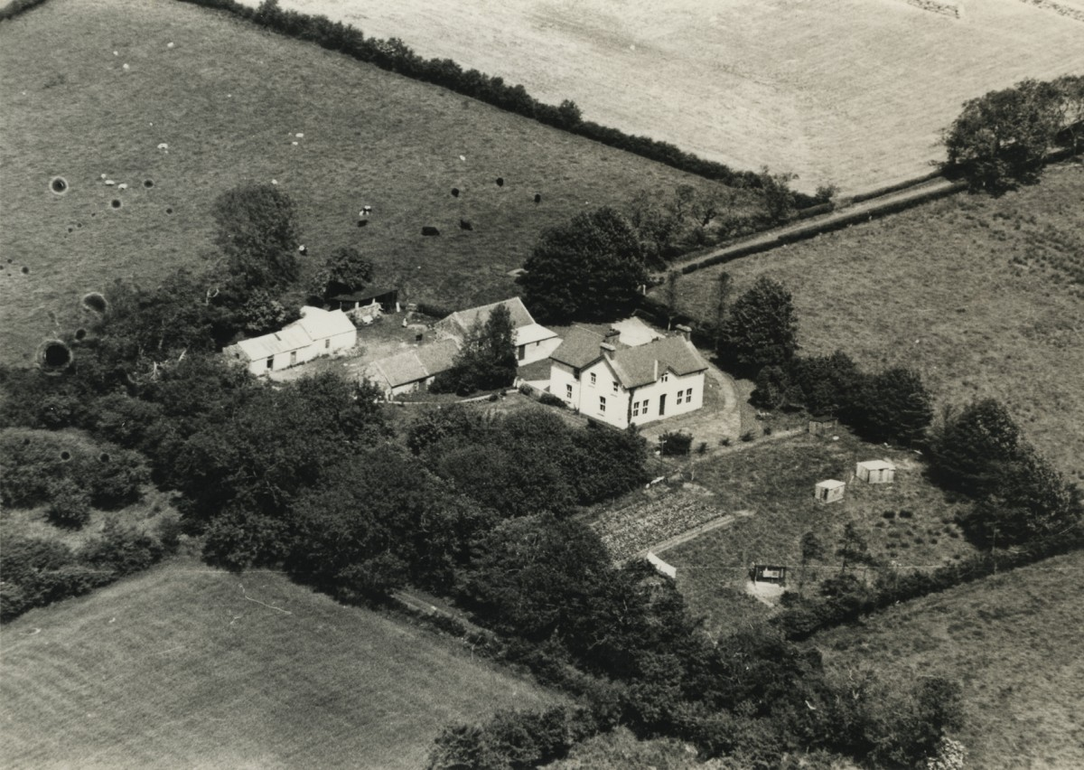 McKay  //  County Antrim :: Aerial view of McKay family farm