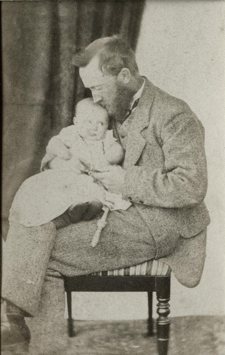McKay  //  County Antrim :: John Pinkerton MP with daughter Ada