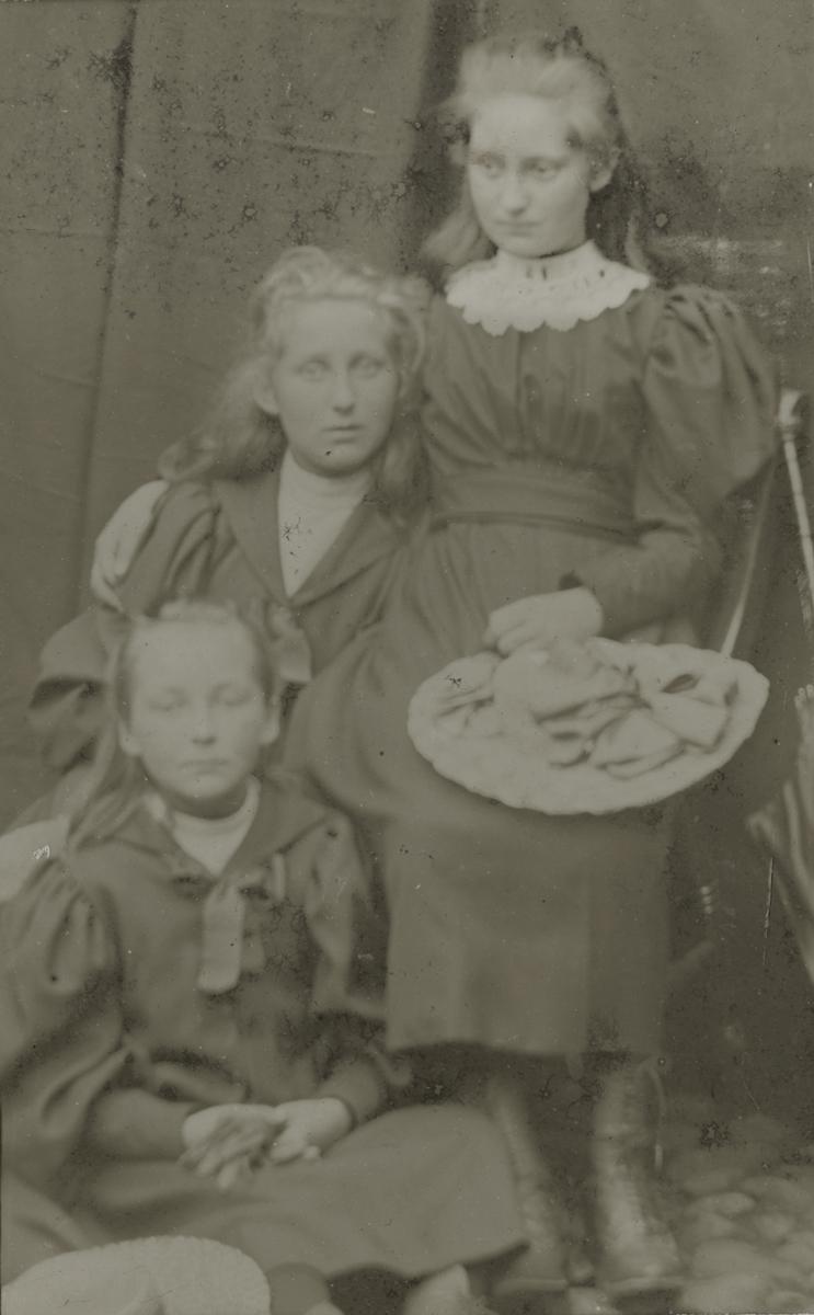McKay  //  County Antrim :: Studio portrait of the Knox children