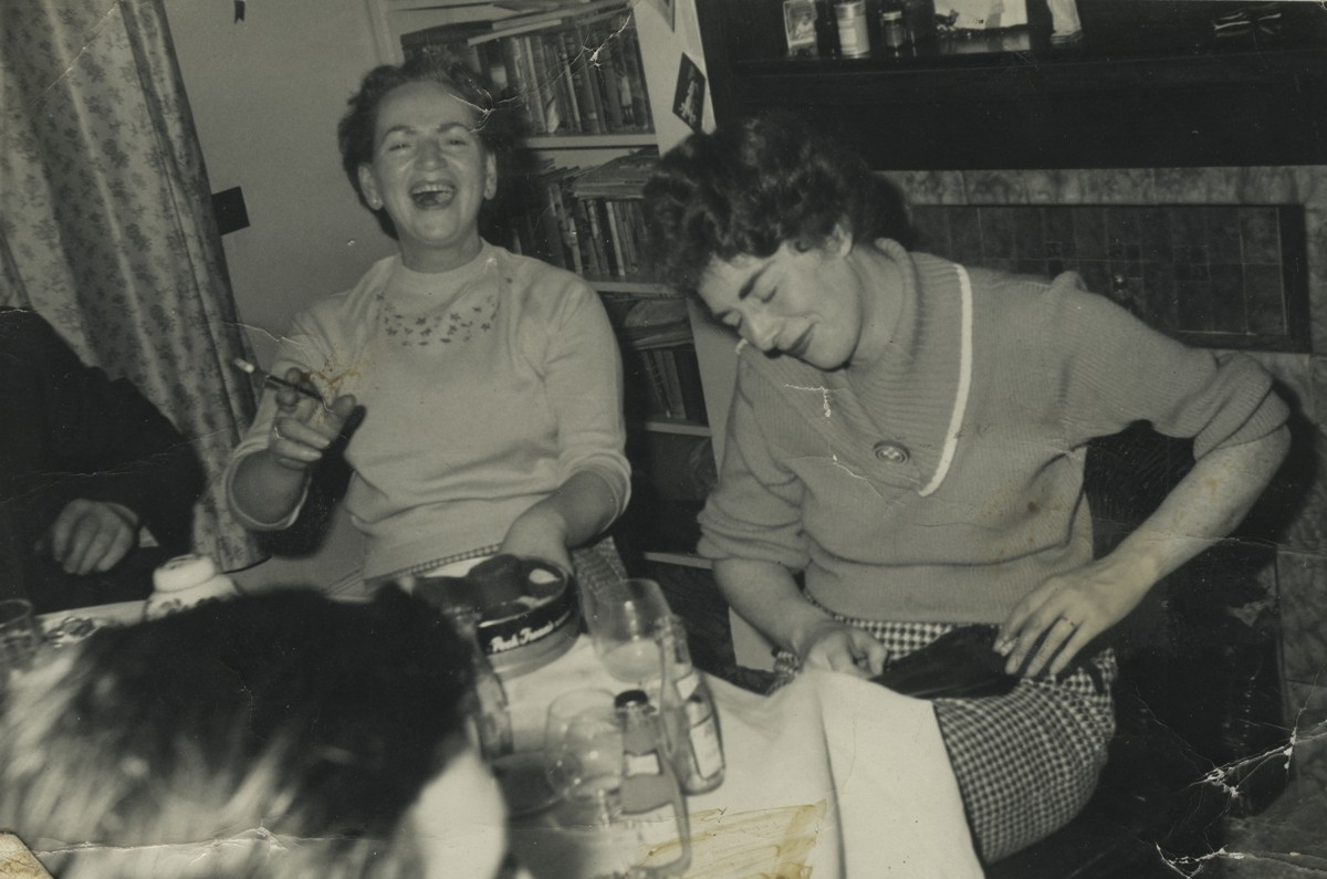 McKee  //  County Down :: Hazel McKee and friends at a dinner party